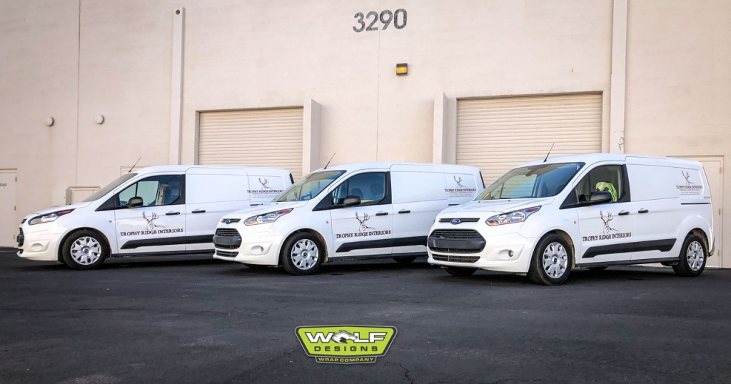 Trophey Ridge Fleet Wrap Graphics